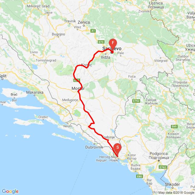 20180813_Kotor-Mostar-Szarajevó