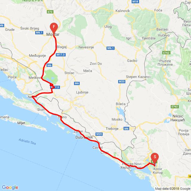 Kotor-Dubrovnik-Mosztár 5/7