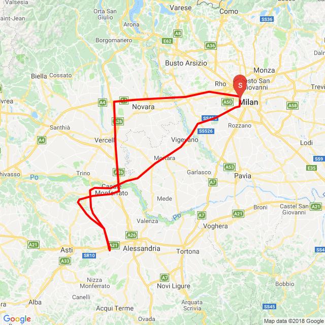 Giro breve del Monferrato