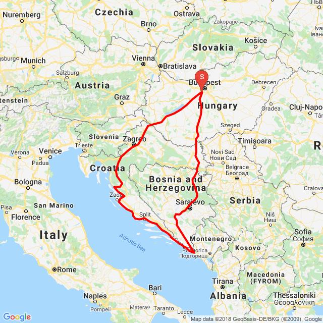 3 nap,3 ország