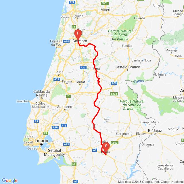 Evora-Coimbra