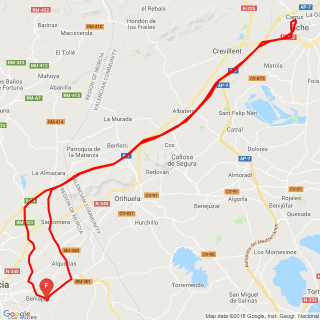 20181007 Torreaguera-Elche-Torreaguera