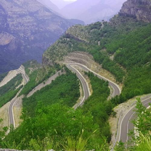 Balkán kaland és az Albán SH20-as út